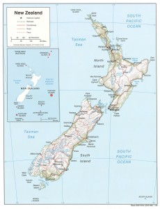 NZ Topography